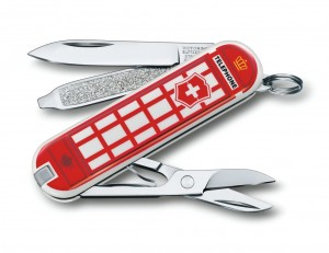 "scyzoryk Victorinox 0.6223.L1808 Classic ""A Trip to London"""