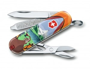 "scyzoryk Victorinox 0.6223.L1802 Classic ""Call of Nature"""